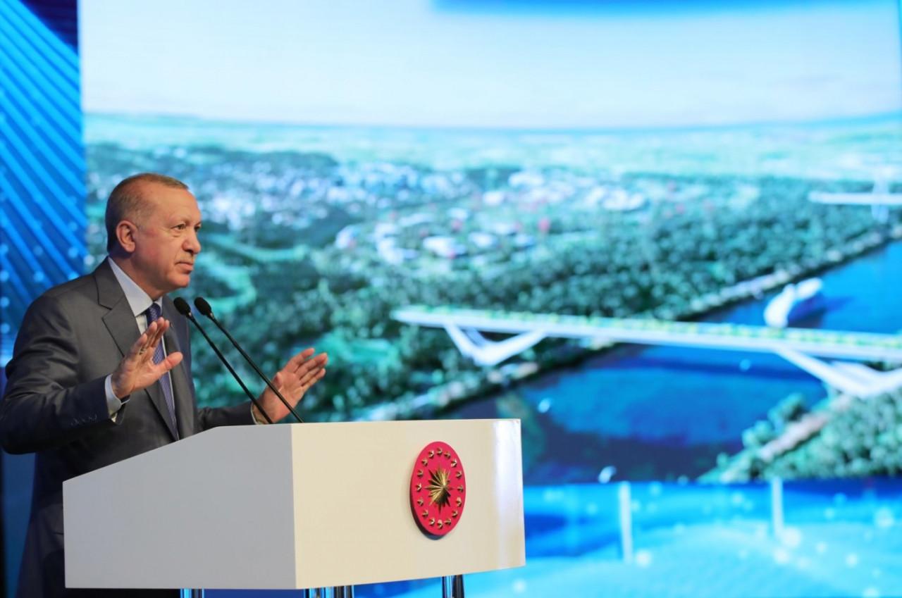 وضع حجر الأساس لأول جسور قناة إسطنبول المائية
