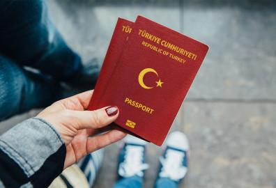 Obtaining a Turkish passport cover