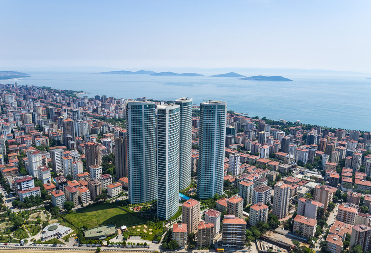 Own an Apartment & Get the Most Beautiful Views of Istanbul in the Midst of a Green Environment with Unique Architectural Details